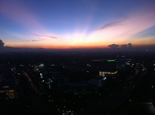 Sunset Bintaro Night